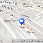 Kaart Mirage Damesmode BV Barendrecht, Nederland