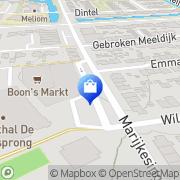 Kaart MCD Supermarkt Barendrecht, Nederland