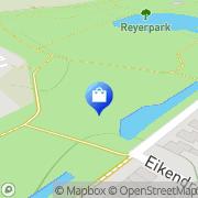 Kaart Virtual Workforce Technologies Ridderkerk, Nederland