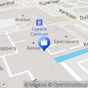 Kaart Yes Yes Fashion Capelle aan den IJssel, Nederland