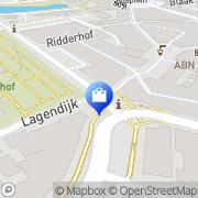 Kaart Blue By Pineapple Ridderkerk, Nederland