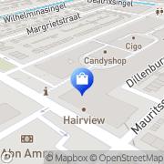 Kaart Smit Mode Alblasserdam BV Hendrik-Ido-Ambacht, Nederland