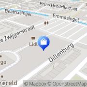 Kaart Jumbo Hendrik-Ido-Ambacht, Nederland
