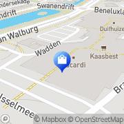 Kaart Simply The Best Zwijndrecht, Nederland