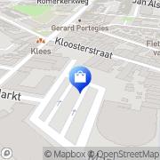 Kaart Donker Apotheek Beverwijk, Nederland