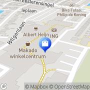 Kaart Stapper Schoenen VOF De Alblasserdam, Nederland