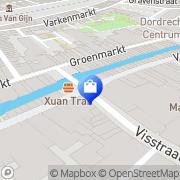 Kaart Albert Heijn Supermarkt Dordrecht, Nederland