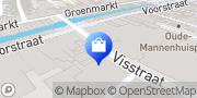Kaart Roodfeld Alexander Herenmode Dordrecht, Nederland
