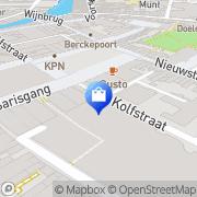 Kaart Nelson Schoenen Dordrecht, Nederland