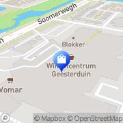 Kaart Sport Sportief Castricum Castricum, Nederland