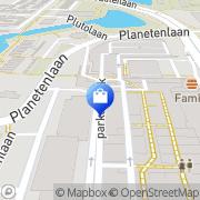 Kaart HEMA Dordrecht, Nederland