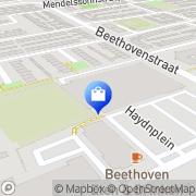 Kaart Glanda Mode Heemskerk, Nederland