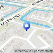 Kaart BENU Apotheek De Vrijheid Papendrecht, Nederland