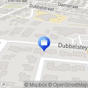 Kaart LLOYDS Apotheek Dubbeldam Dordrecht, Nederland