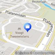 Kaart Albert Heijn Supermarkt Papendrecht, Nederland