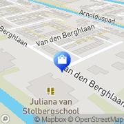 Kaart No Joke Shoes BV Hoofddorp, Nederland