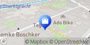Kaart Ad Mineraal Gouda, Nederland