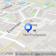 Kaart Brugspin De (Ipse de Bruggen) Ter Aar, Nederland