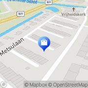 Kaart Nikolaj Interieur Alkmaar, Nederland