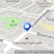 Kaart Tuindorp Videoland Den Helder, Nederland