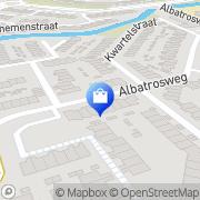 Kaart Dubois Webcompany Alkmaar, Nederland