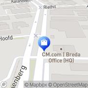 Kaart SiteSupport Breda, Nederland