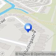 Kaart Text & Uitleg Alkmaar, Nederland
