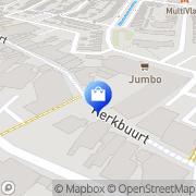 Kaart Jumbo Sliedrecht, Nederland
