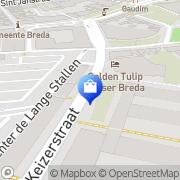 Kaart Kijkshop BV Breda, Nederland