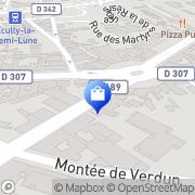 Carte de 5Ème Avenue Tassin-la-Demi-Lune, France