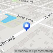 Kaart Caleidoscoop Apotheek Badhoevedorp, Nederland