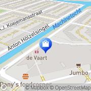 Kaart Apotheek De Vaart Amsterdam, Nederland