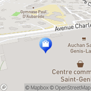 Carte de Orchestra SAINT GENIS LAVAL Saint-Genis-Laval, France