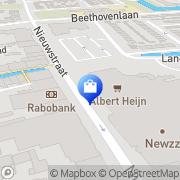 Kaart Blits Schagen, Nederland