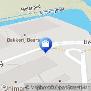 Kaart Os Van Buren Waalwijk BV Van Alkmaar, Nederland