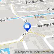 Kaart Kijkshop Zaandam, Nederland