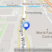 Kaart Branded Agencies BV Amsterdam, Nederland