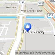Kaart Con BV Hans Amsterdam, Nederland