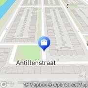 Kaart Mina Supermarkt Amsterdam, Nederland