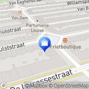 Kaart Empresse L' Amsterdam, Nederland