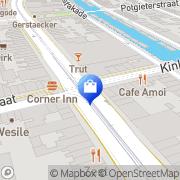 Kaart Annabel Boetiek Amsterdam, Nederland