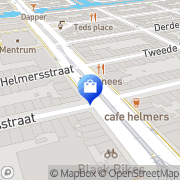 Kaart Birkenstock Store Amsterdam, Nederland