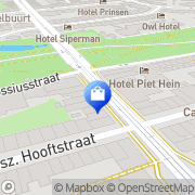 Kaart Panara Schoenen Paridon Hans van Amsterdam, Nederland