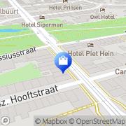 Kaart Bellerose Amsterdam, Nederland