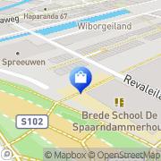 Kaart Neef Louis Amsterdam, Nederland