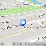 Kaart Marccain Amsterdam, Nederland