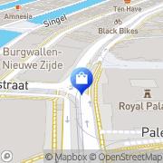 Kaart Marchesi Amsterdam, Nederland