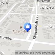 Kaart C 1000 Voordeel Markt Van Vuuren Werkendam, Nederland