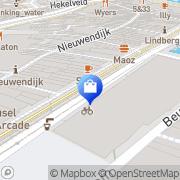 Kaart Versluis Tabak-Souvenier Frans Amsterdam, Nederland