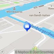 Kaart C-I International BV Amsterdam, Nederland